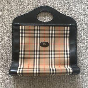 Vintage Burberry Tote / Briefcase